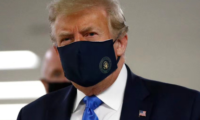 [Trump] [3] Trump Wears Mask In Public For the First Time
